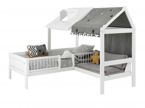 Beach House Bett mit Sofa und Zelt Among the Stars