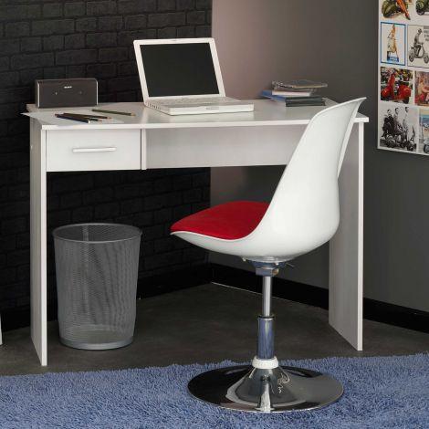 Schreibtisch Back to School 101cm - weiß