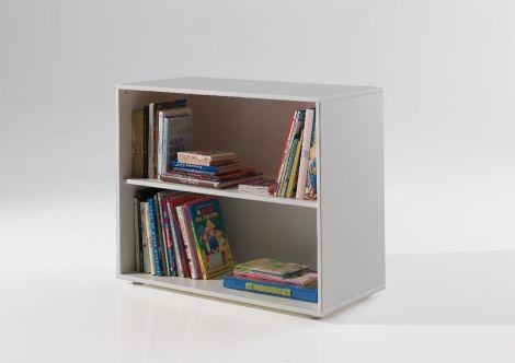 Bücherregal Charlotte - weiß