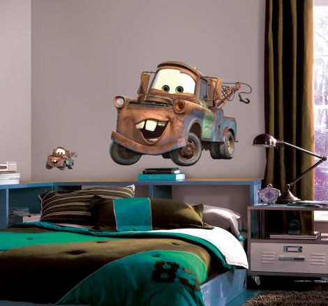 Roommates Wandtattoo - Cars Hook