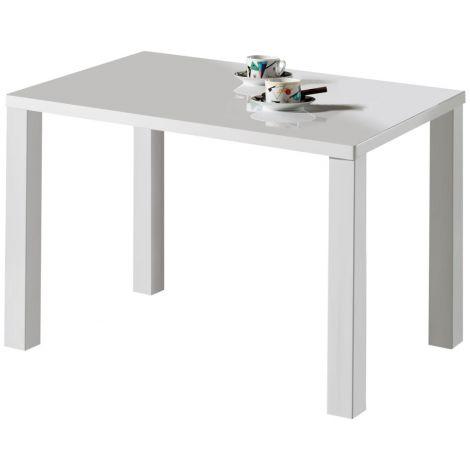 Esstisch Elisa 120x80 cm - weiß