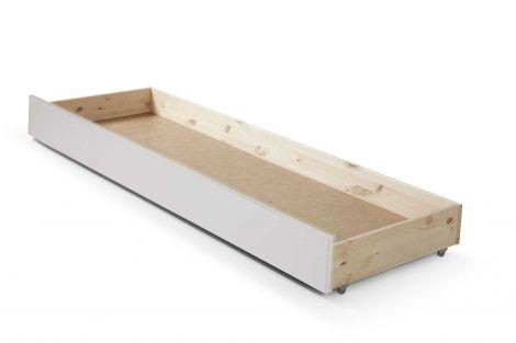 Bettlade für ausziehbares Kojenbett Julie - weiß