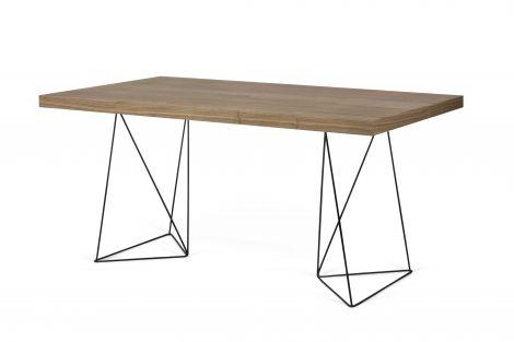 Tisch Multis - Nussbaum/schwarz