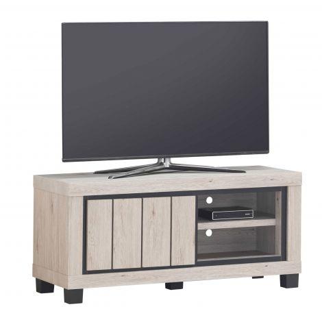 Jeder 120cm Fernsehschrank mit 1 Tür - Eiche
