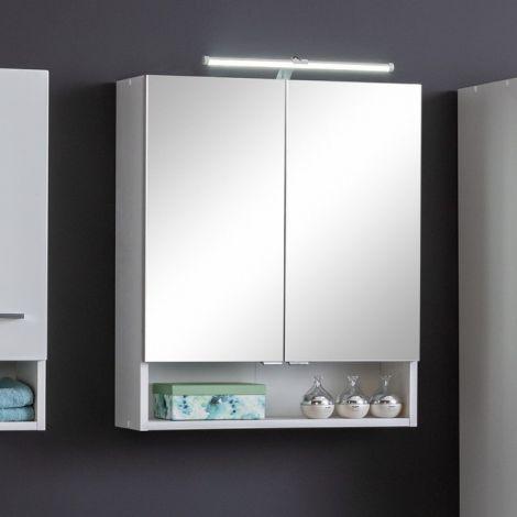 Spiegelschrank Ricca 60cm 2 Türen - weiß