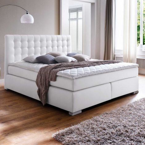 Boxspring bed ISA - 180x200 - Wit