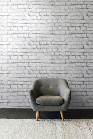 Whitewash Brick White