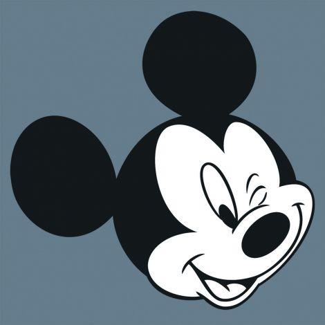 Leinwandbild Micky zwinkert