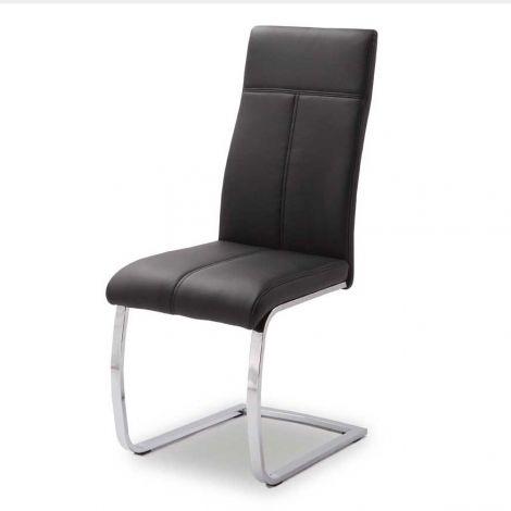 Satz von 2 Stühlen Elio - schwarz
