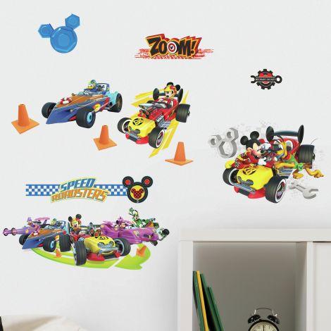 Wandaufkleber Mickey & The Roadster's Racing League