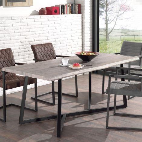 Tisch Britta - graue Eiche