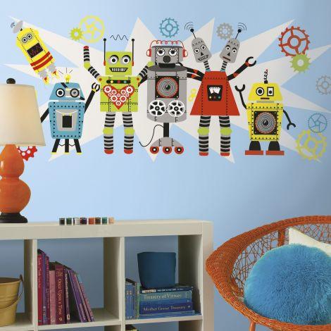 Wandsticker RoomMates - Roboter
