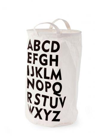 Tasche aus Baumwollstoff ABC