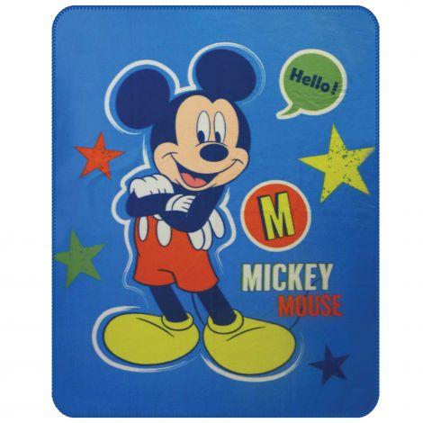 Kuscheldecke Micky Maus Expressions