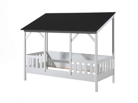 Homebed Malia 90x200 - schwarzes Dach