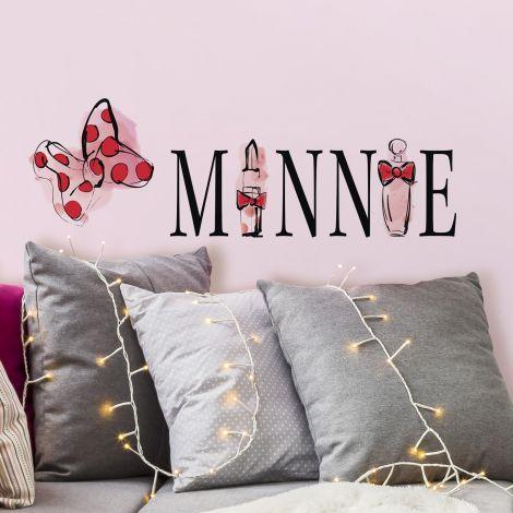 Wandaufkleber Minnie Maus Parfüm