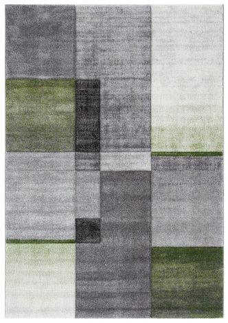 Teppich Timelapse 190x133 Grau/Grün