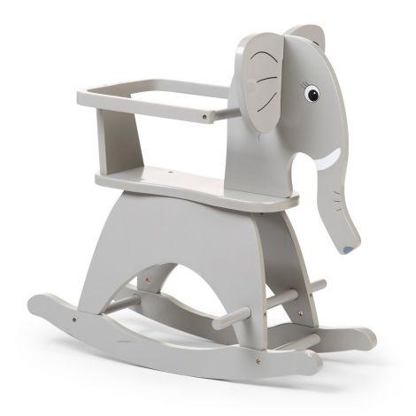 Elefanten-Schaukelstuhl - grau