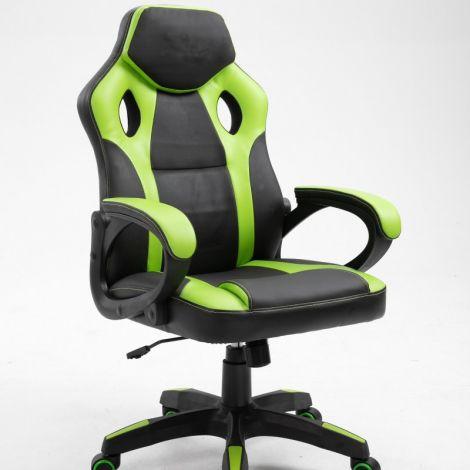 Gaming-Stuhl Matt - grün/schwarz
