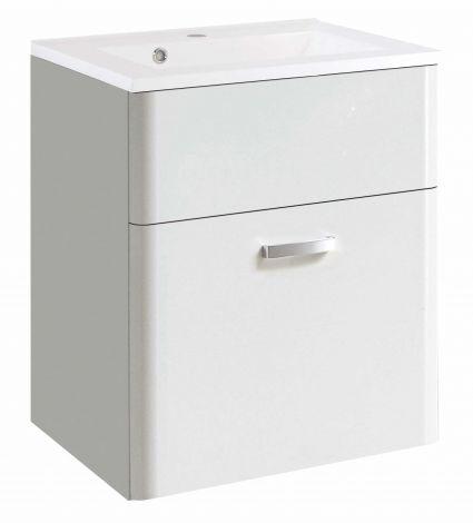 Waschbeckenschrank Phoenix 60cm - weiß