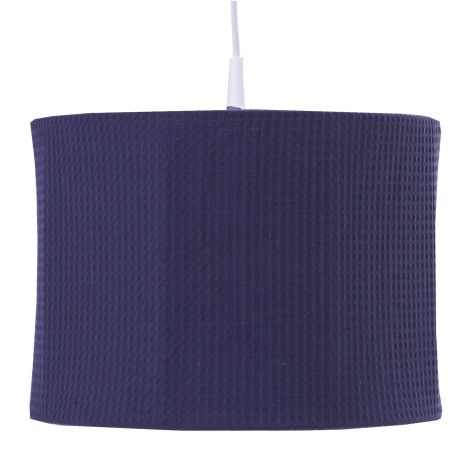 Hängelampe Pique - marineblau