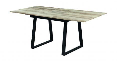 Tisch 'Wien' ausziehbar 140/180x90 Eiche alt