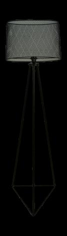 Stehleuchte - pulverbeschichtet schwarz