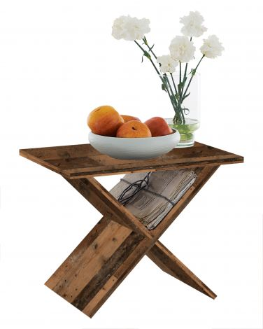 Couchtisch Phil - verwittertes Holz