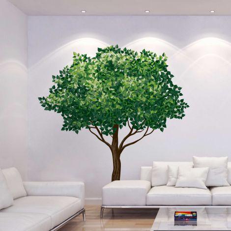 Riesen-Wandaufkleber Baum