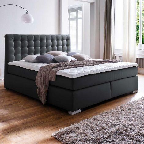 Boxspring bed ISA - 180x200 - Zwart