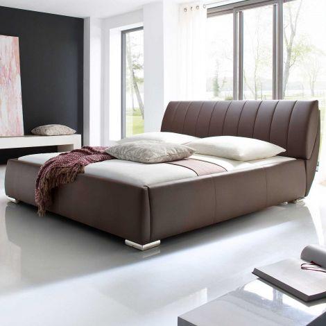 Gestoffeerd bed Bern - 180x200 cm - bruin