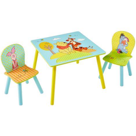 Kindertisch mit Stühlen - Winnie Pooh